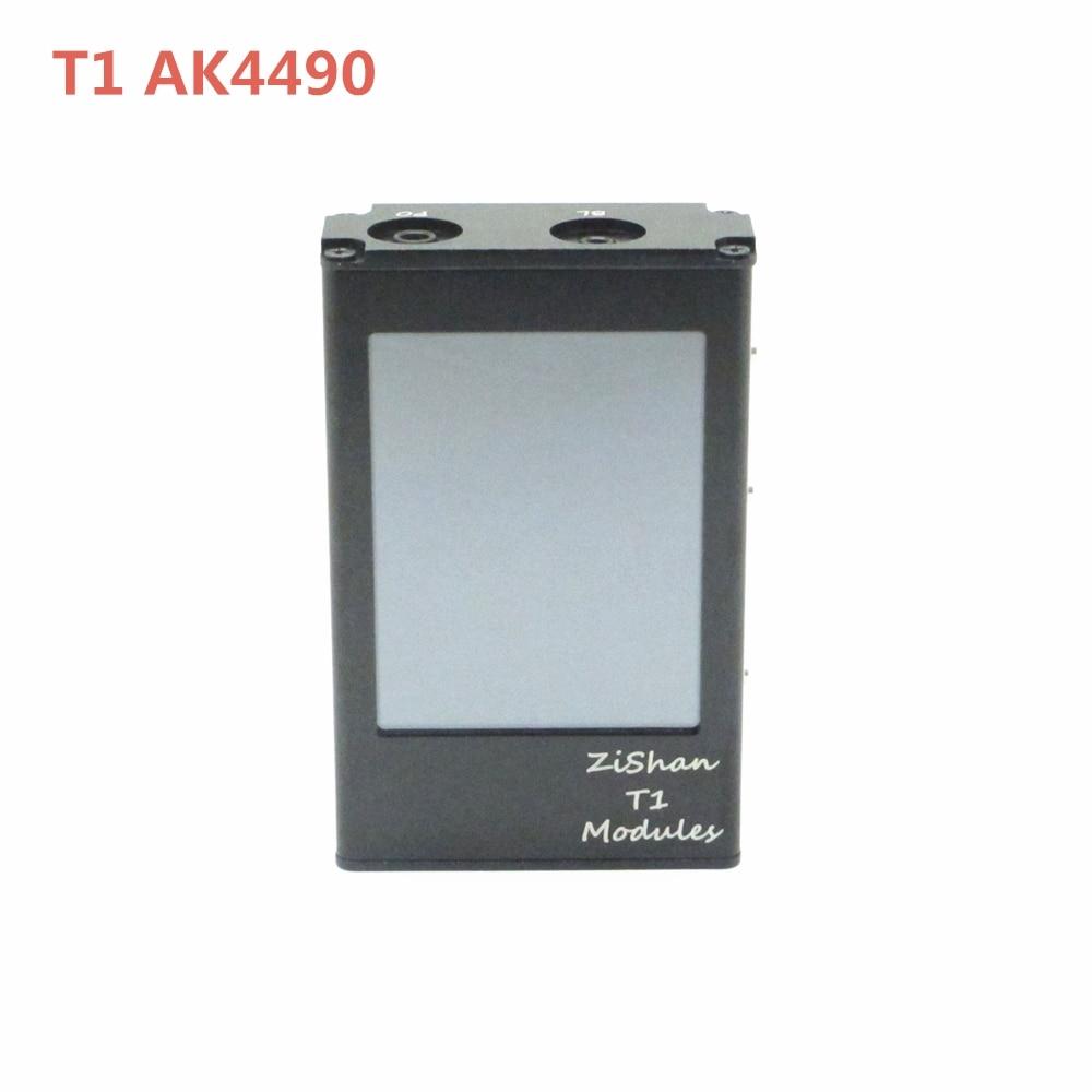Zishan T1 AK4490 EQ DSD MP3 Player Professional Lossless HiFi Protable MP3 Player Hard Solution balanced Amplifier Z1 Z3