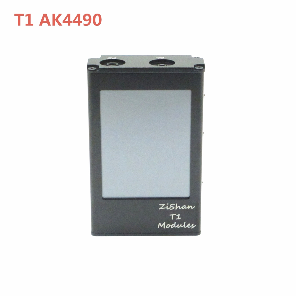 Zishan T1 AK4490 EQ DSD MP3 Player Professional Lossless HiFi Protable MP3 Player Hard Solution balanced Amplifier Z1 Z3