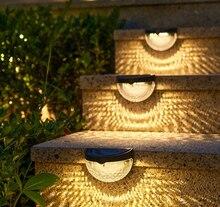Новый светодиодный солнечный светильник настенные лампы уличного освещения энергии садовые светильники Водонепроницаемый солнечный свет...