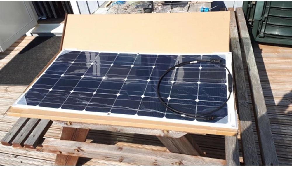 solar kit panneau solaire célula flexível para