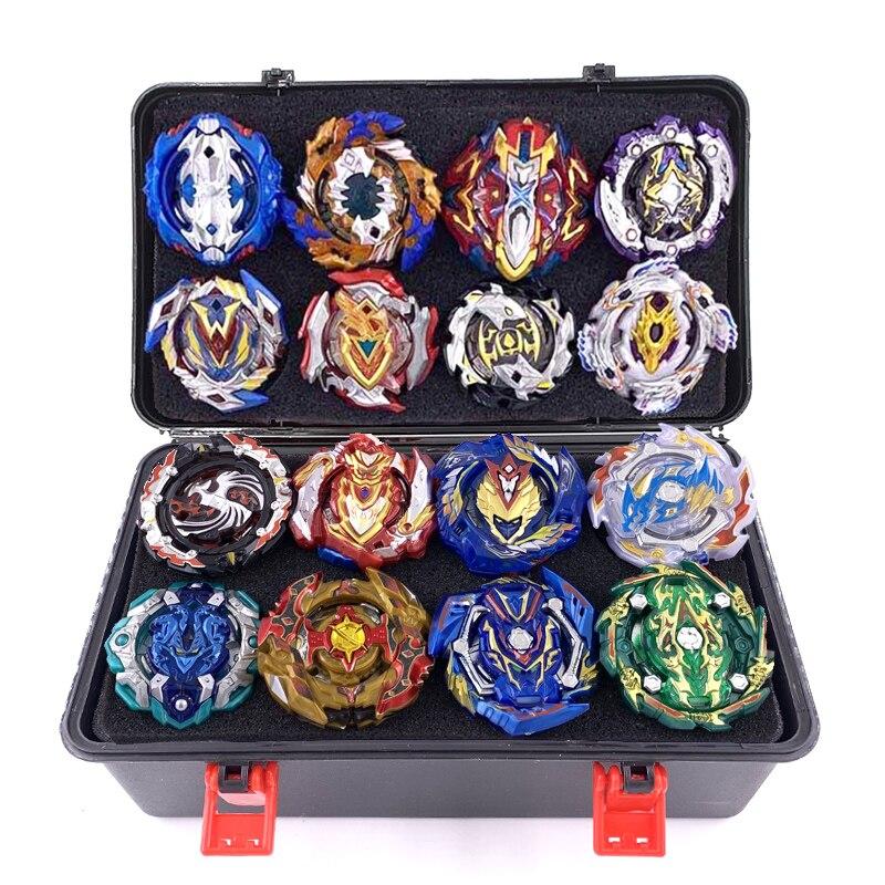 Nouveau jeu de lanceurs en rafale jouets Beyblade arène lames de bayblade Toupie métal éclaté Avec dieu Toupie