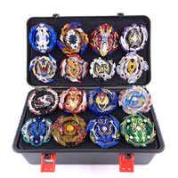 Nuevo juego de lanzadores de ráfaga Beyblade juguetes Arena Bayblades Toupie Metal ráfaga Avec God Spinning Top Bey cuchillas de juguete
