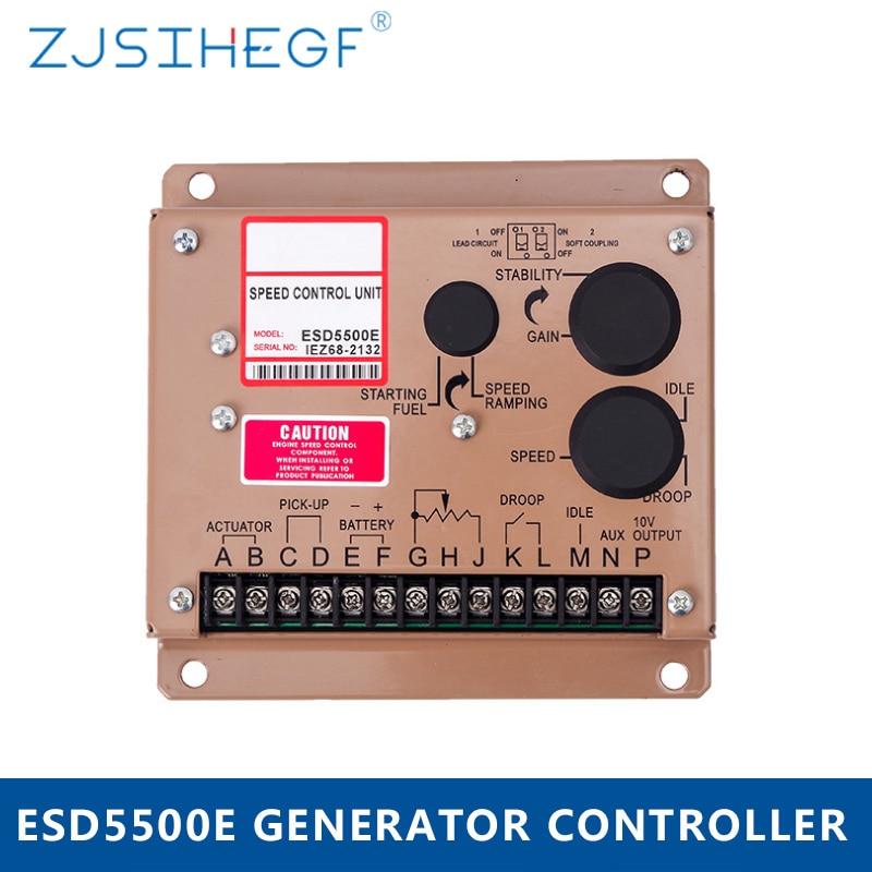 ESD5500E Generator Speed Controller Diesel Engine Speed Control Unit Governor For Set E5500/5500E