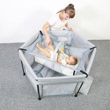 Детская кровать с загородкой двойного назначения для маленьких