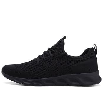 Men Shoes Light Sneakers Men Breathable Jogging Shoes For Men Rubber Tenis Masculino Adulto Plus 35 46 48 DropShipping
