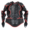 S-XXXL Size Motorcycle Professional Body Armor Jacket Spine Chest Shoulder Protection Gear Body Armor Off-road Protective Jacket review