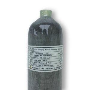 Image 4 - Ac1217 acecare 2.17l ce pcp 탄소 섬유 실린더 페인트 볼 탱크 4500psi airsoft/air rifle/airforce condor/airgun co2 펠렛