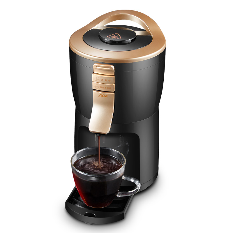 Full Automatic Coffee Machine Coffee Maker Cafe American Automatic Grinding Beans Household Tea American Drip Coffee One Machine