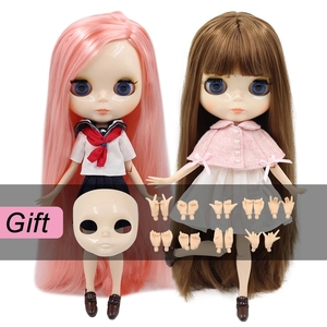 Image 1 - ICY DBS blythe Doll toy joint body bjd white skin shiny face 1/6 toy 30cm in vendita offerta speciale