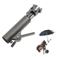 Umbrella Holder Stand Golf Trolley Cart Bike Club Pram Pull Push Durable
