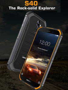 DOOGEE S40 3GB 32GB IP68/IP69K 4G WCDMA/GSM/LTE Nfc Gorilla Glass Quad Core Fingerprint Recognition/face Recognition
