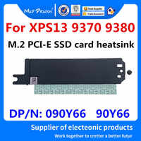 MAD DRAGON Brand NEW M.2 PCI-E SSD Support Bracket Adapter storage card heatsink For Dell XPS13 9370 XPS 13 9380 090Y66 90Y66