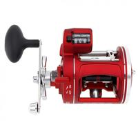 12 Ball Bearing 3.8:1 Gear Ratio High Strength Body Cast Drum Wheel Casting Fishing Reel with Depth Counter