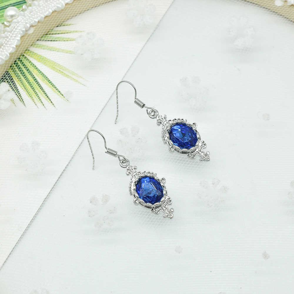 Nuevos pendientes de gota de cristal para mujer, pendientes de zirconio blanco, joyería de boda Boho, pendientes largos, venta al por mayor