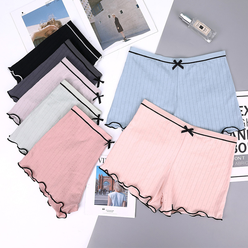 Summer Women Safety Shorts Pants Breathable Panties Cotton Boxer Shorts Seamless Slimming Underwear Mid Waist Boy Shorts