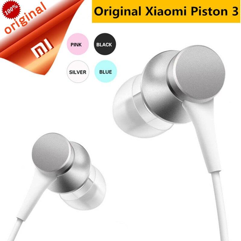 Xiaomi Earphone Headset Mi-Piston Fresh-Version In-Ear Original With Mic-Wire-Control