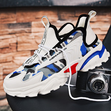 Popular 2020 Male Sneakers Breathable Sports Shoes For Men Brand Designer Man Running Shoe Anti Slip Gym Sneakers Men Size 39-44 2019 popular breathable men luxury brand trail running shoe plus size46 athletic sneakers for men jogging shoe sneakers for men