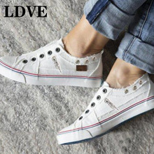 2019 Autumn New Fashion  Shoes For Women Casual Vulcanize Flat Shoes Sneakers Girls Low-cut Zipper Trainers Plus Size 35-43