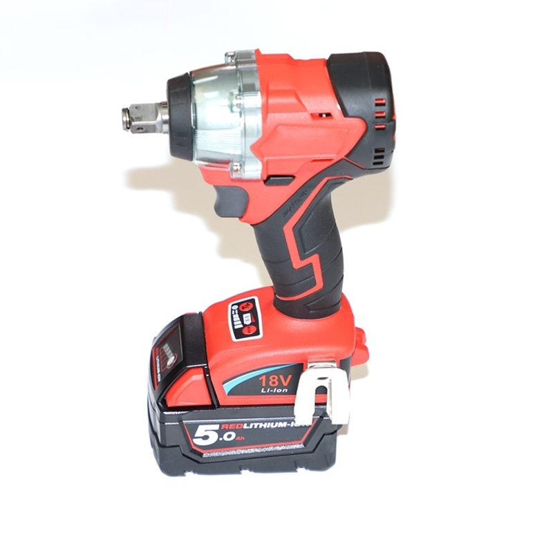 For Milwaukee Trechargeable Brushless Impact Wrench Brushless Screwdriver Instead Compatible For Milwaukee 18V Lithium Battery