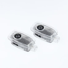 2 pces para mercedes benz w221 s classe s350 s500 s63 s65 2006-2013 amg led porta do carro emblema bem-vinda projetor luz acessórios de automóvel