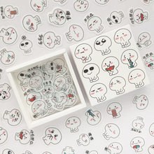 200pcs/set Cute Expression Stickers For Children Scrapbooking Japanese Diary Sticker Bullet Journal Stationery Office Supplies(China)