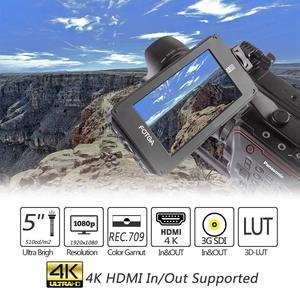 Image 5 - FOTGA A50TLS 5 pouces FHD vidéo sur caméra moniteur de terrain IPS écran tactile SDI 4K HDMI entrée/sortie 3D LUT pour A7S II GH5