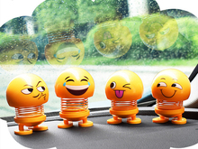 Funny Shaking Head Doll Small Ornaments Lovely Car Accessories Interior  Doll Creative Car Toys Car Decoration Accessories
