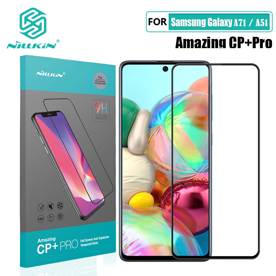 Tempered Glass For Samsung Galaxy A51 A71 Nillkin CP+Pro 2.5D Full Glue Screen Protector Film For Samsung Galaxy A71 Glass