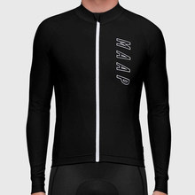 Maap Thermal Fleece Cycling Clothing Men's Winter Training Bike Jersey Long Sleeve Jacket Sport Riding MTB Ropa De Moto Hombre