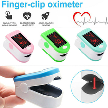 Professional Finger Pulse Oximeter Blood Oxygen Saturation Monitor Heart Rate Detector Health Monitors