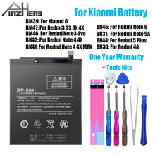 PINZHENG Original Phone Battery BM47 For Xiaomi Re