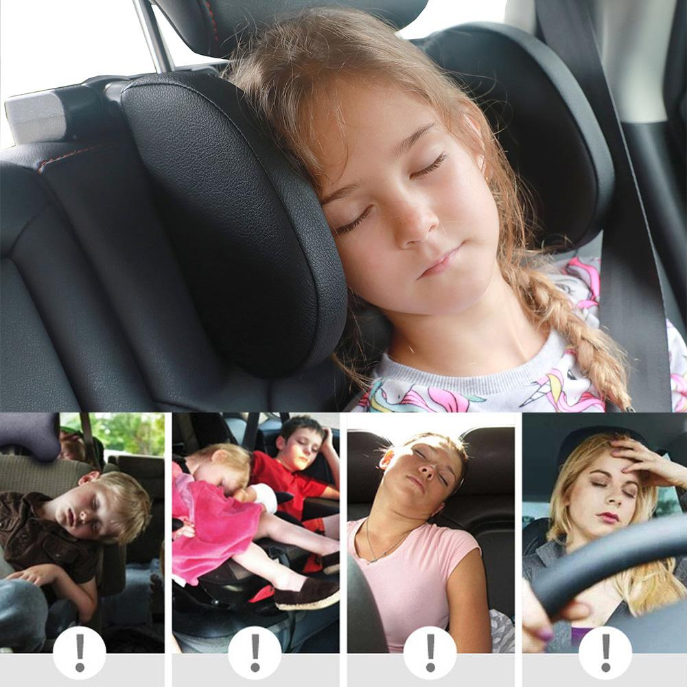 Car Seat Pillow Headrest Neck Pillow Travel Sleeping Cushion For Kids Adults Car Seat Headrest Useful For Cars Universal