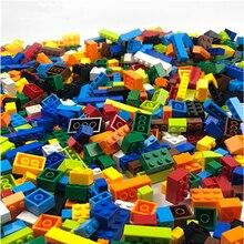 Modelo a granel ciudad DIY bloque de construcción creativo Compatible legoedlys Duple ladrillos creador figura educativa juguete para regalos de niños