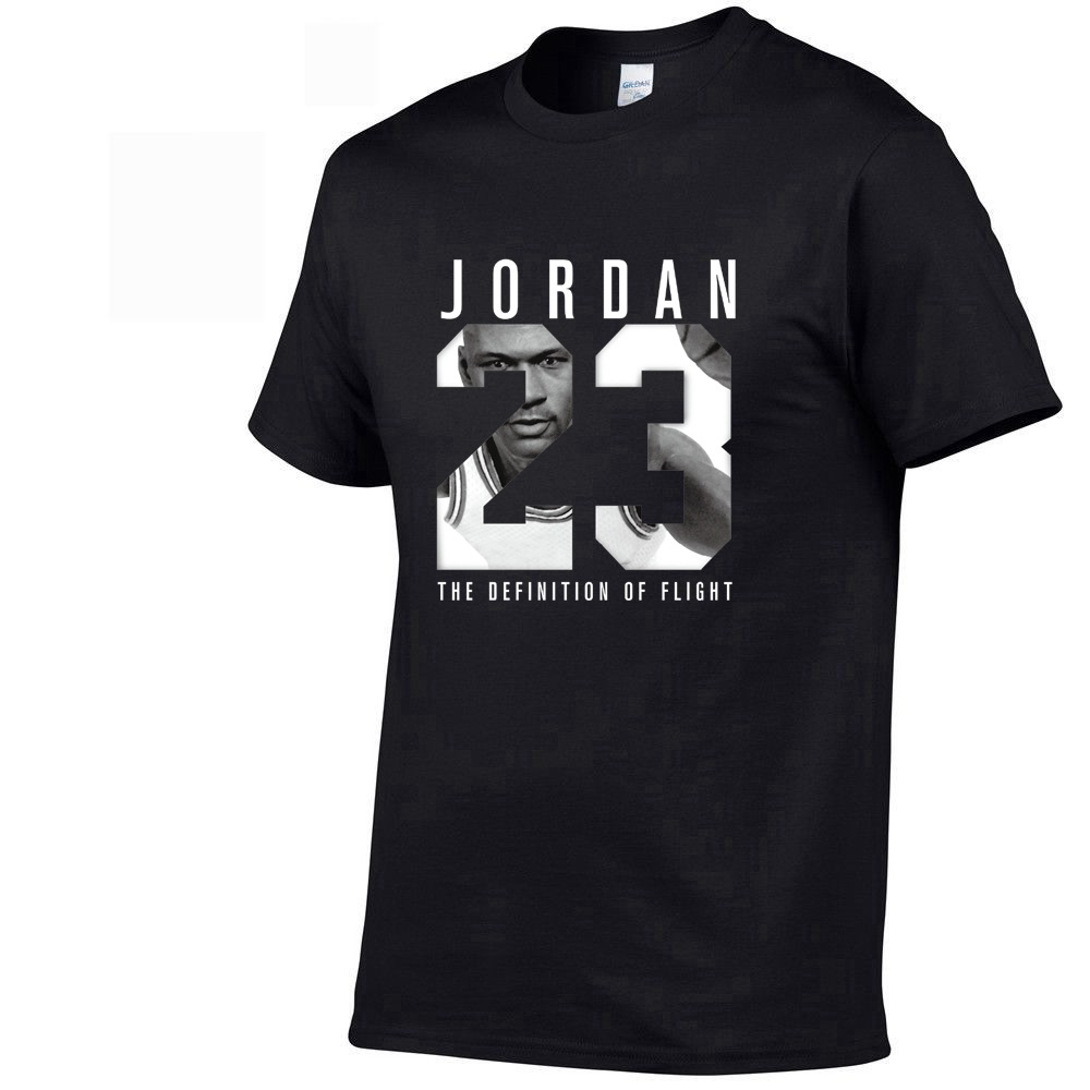 2019 Summer New Brand Tee Jordan 23 Print Men Swag T-Shirt Top Quality Cotton Jordan 23 Hip Hop Short Sleeve T Shirt Men