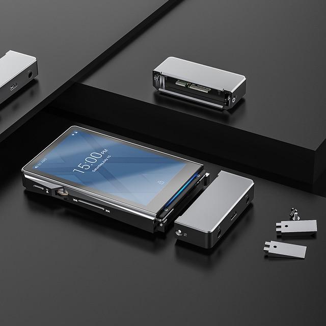 FiiO X7II with Balacned Module AM3A Android-based WIFI Bluetooth 4.1 APTX Lossless DSD Portable Music Player,FiiO MP3 X7II 3