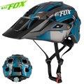 Batfox 2019 Новый велосипедный шлем для взрослых мужчин женщин мужчин открытый дышащий большой козырек в форме камуфляж MTB шлем Safty спортивный шл...