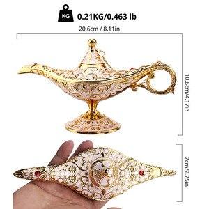 Image 5 - Aladdin Lampe Halloween Dekoration Cosplay Kostüm Party Favors Phantasie Kleid Requisiten Heißer