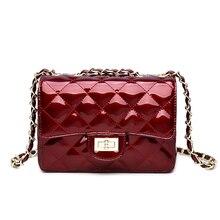 Women Pu Leather Handbags Chain Small Luxury Ladies Messenger Bag Crossbody New Fashion Female Shoulder Bag Party Lock Purse