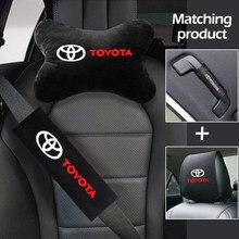 Ensemble complet de housses de siège de voiture, pour Toyota avensis auris hilux Corolla, housse de protection pour appui-tête, taie d'oreiller