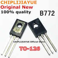 20 piezas B772 TO126 2SB772 TO-126 3A/40V 772 Chipset IC nuevo y Original