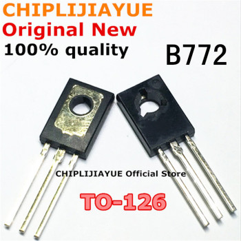 20PCS B772 TO126 2SB772 TO-126 3A/40V 772 New and Original IC Chipset - discount item  10% OFF Active Components