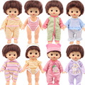 Кукольная одежда Nenuco 15 стилей, милые аксессуары в полоску для кукол 25 см mchan ellbaby, поколение, игрушки, подарки для детей