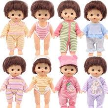 Estilos de 15 Nenuco Boneca Roupas Acessórios Para 25Cm Mellchan Boneca Estilo Bonito Listrado Do Bebê, Geração, Presentes Brinquedo Para Crianças'