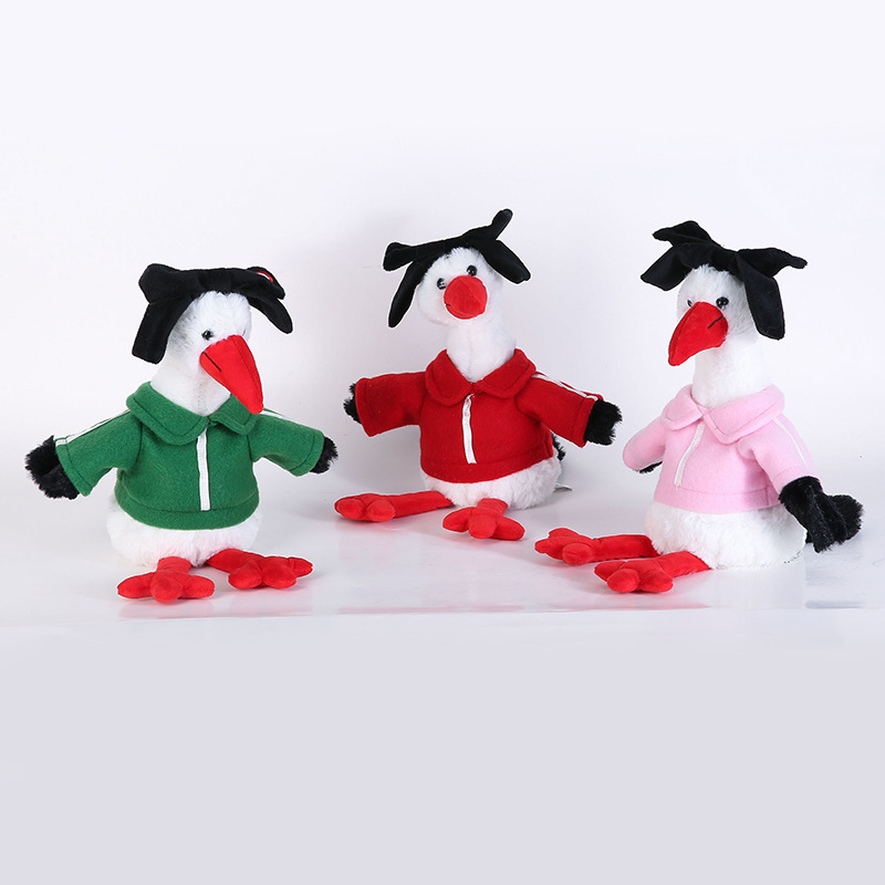 Repeat Chicken Down Feather Toy Doll Douyin Celebrity Style Animated Recording Doll A Generation Of Fat Currently Available