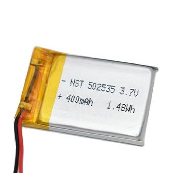 400mAh 502535 litowo-polimerowa bateria litowo-jonowa akumulator do Mp3 MP4 MP5 GPS PSP mobilny głośnik bluetooth tanie i dobre opinie monkeystick 0-1300 mAh Kompatybilny
