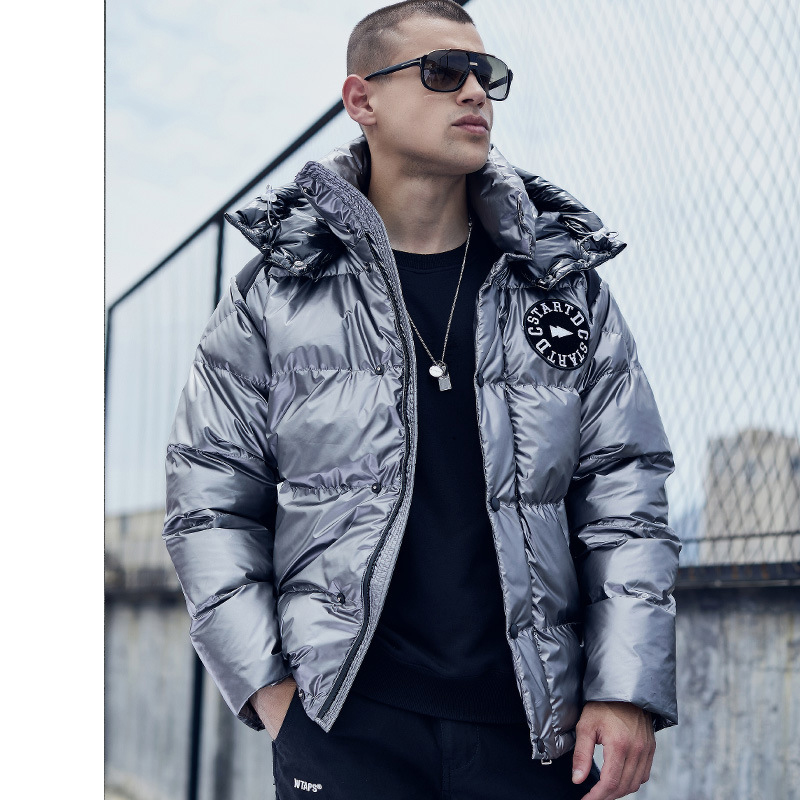 Origional Popular Brand Down Feather Cotton-padded Clothes Men's  Winter New Style Cotton Coat Men's Europe And America Men