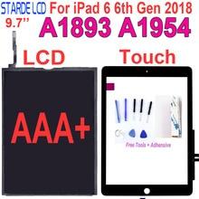 AAA + Per iPad 6 6th Gen 2018 A1893 A1954 Touch Screen del Pannello Digitizer/LCD Screen Display Per ipad pro 9.7 2018 A1893 A1954