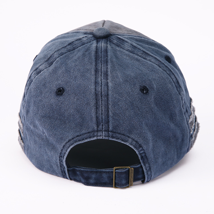 Image 3 - Hot Selling Letter Embroidery for Old Bullhead Baseball Cap Locomotive Washing Male and Female Duck Tongue Cap