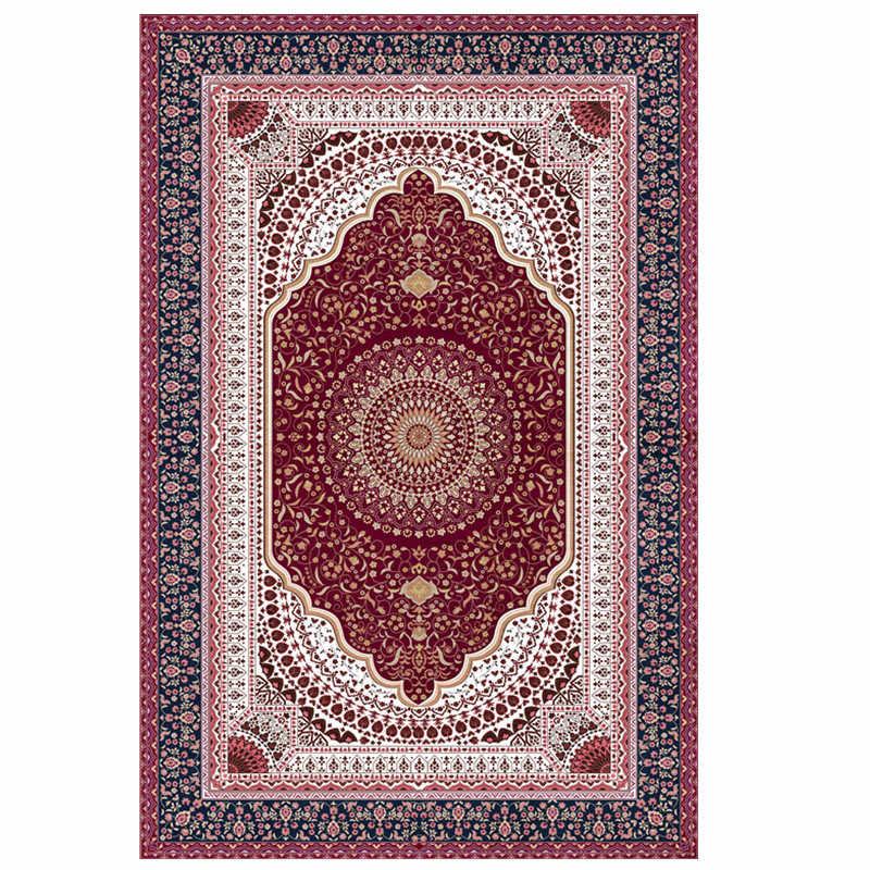 거실 용 페르시아 로얄 소프트 카펫 침실 키즈 룸 러그 홈 카펫 거실 용 바닥 매트 매트 러그 매트