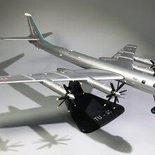 1/144 масштаб, российский медведь, бомбардировщик, литой металл, военный самолет, модель, игрушка для мальчика, коллекция, Подарочные игрушки, ...